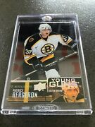 Patrice Bergeron Clear Cut Acetate Retro Young Guns, Case Included