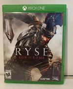 Ryse Son Of Rome Legendary Edition Microsoft Xbox One Complete, Clean And Tested