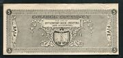 1900's 5 Five Dollars College Currency Obsolete Currency Note