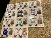 2020 Topps Allen And Ginter Presidential Campaign Pins Complete Set 11
