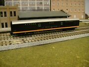 N Scale Kato Custom Painted Kansas City Southern 72' Baggage Car Road Number 28