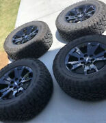 5 X 2018-2021 Chevy Colorado Zr2 Dusk Edition Rims And Tire Take Offs