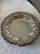 Reed And Barton Burgundy 2301 Silverplate 12 1/2 Bowl