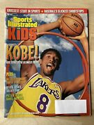 May 1999 Sports Illustrated For Kids Kobe Bryant Poster Emmitt Smith Card Uncut