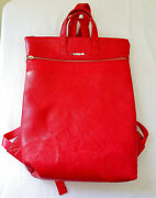Nwot Desigual Red Zip-top Backpack Gorgeous Mint 95