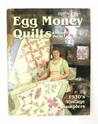 Egg Money Quilts 1930and039s Vintage Samplers By Eleanor Burns