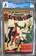 Amazing Spider-man Annual 1 1964 Cgc .5 Or 0.5 -- 1st Sinister Six Appearance