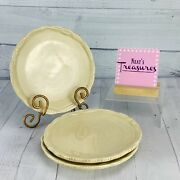 Tracy Porter The Octavia Hill Collection Solid Cream Salad Lunch Plates Set Of 3