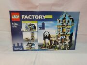 Lego Factory 10190 Market Street Rare 100 Complete W/ Box And Manual Exc Condandnbsp