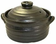 Ih Compatible Banko Ware Rice Cooking Earthenware Pot 2 Go Cooking Direct Fire