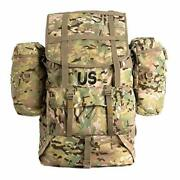 Military Molle 2 Large Rucksack With Frame, Army Tactical Backpack, Multicam