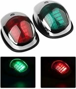 Boat Navigation Light Marine Led Silver Ideal For Pontoon Small Boats Waterproof