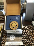 Cadillac Heritage Of Ownership X Medallion Grill Emblem W / Box And Hardware