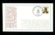 Us Fdc 1729 Lgs 1977 Valley Forge Pa Christmas Washington At Prayer Unofficial