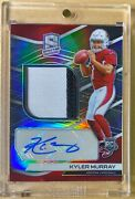 2019 Panini Spectra Kyler Murray Rookie Rc Patch Auto /99 202 Rpa