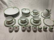 Vintage Noritake Saudi Airlines In Flight Dishes Set Of 30 Pieces