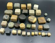 Collectable Lot Old Ancient Bactrian Greekand039s Marble Stone Old Game Play Pieces