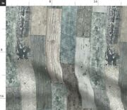 Teal Blue Neutral Pastel Colors Modern Farmhouse Spoonflower Fabric By The Yard