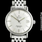 C. 1967 Omega Seamaster Vintage Mens Cal. 560 Ss Steel - Rare Only Approx. 3000