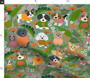 Dogs Four Legged Friend Puppy Dog Days Dogsdc Spoonflower Fabric By The Yard