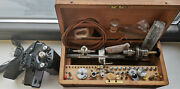 Watchmakers Lorch 6mm Lathe + Motor And Pedal
