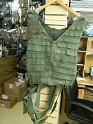 Us Military Surplus Usaf Usn Airsave Survival Aircrew Vest Molle