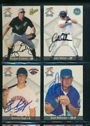 Lot 4 1999 Team Best 95 22 97 39 Weber Wilkerson Signed Autograph Dd14 Swsw