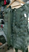 Us Military Surplus Airsave Survival Aircrew Molle Vest, Od Green