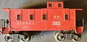 Lionel Southern Pacific Caboose 6357 - Pre Owned