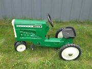 Oliver 1750 Pedal Tractor Narrow Front Fu-1371 New In Box