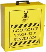 Prinzing Lockout Station Cabinet Includes Electrical Valve And Plug Lockouts
