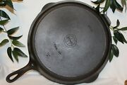 Vintage Griswold Cast Iron 🕳 No. 12 Skillet 719 B 🕳 Erie Pa. Small Logo Heat