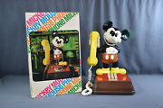 Vintage Mickey Mouse Phone American Tele Corp. Model Tmf8000 Disney Rotary
