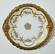 Antique Limoges Blakeman And Henderson Double Handled Plate