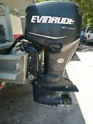 2008 Evinrude 90hp Etec Outboard 20 In Shaftandnbsp For Parts Or Repair Candidate