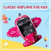 12v Kids Ride On Plane With Foldable Wings 2.4g Remote Control Usb And Radio