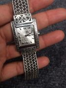 Beautiful Lois Hill Bali Indonesia Sterling Silver 925 Watch