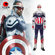 Dfym The Falcon Cosplay New Captain America Costume Armor Suit Halloween Outfit
