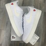 Nike Air Force 1 Low Valentines Day 2021 Dd7117-100 Size 14