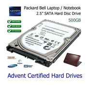 500gb 2.5 Sata Laptop Hard Drive Hdd Upgrade Replacement For Advent Roma 1001