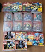 1998 Hasbro Small Soldiers Action Figures Gorgonite Lot Plus Vehicles And Cases