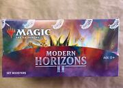Magic The Gathering Modern Horizons 2 Set Booster Box - In Hand