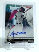 Austin Wells 2020 Bowmanand039s Best Prospect On-card Auto B20-aw New York Yankees