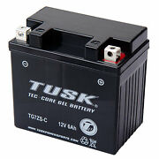 Tusk Tec-core Battery With Acid Tg7zsc Maintenance-free Gel Tg7zsc