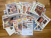Lot Of 79 Woodsmith Magazine From 90s-early 2000s Woodworking Plans And Inst
