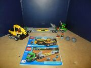 Lego City Excavator Transport Set 4203 With Instructions 100 Complete