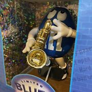 Mandms Blues Cafe Limited Edition Candy Dispenser Collector Series Saxaphone 10