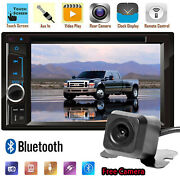 2din Car Mp5 Hd Bluetooth Touch Screen Stereo+camerafit Forf-250 Super Duty 15
