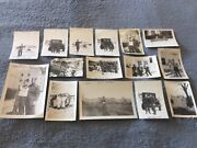 Ww2 Us Army Operations Photographs Task Force Frost Personnel Equipment 6th Tank