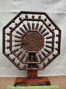 19 Collection Old Chinese Redwood Carving Small Bead Abacus Counting Frame
